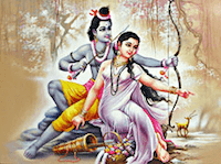 Image of Sita and Rama
